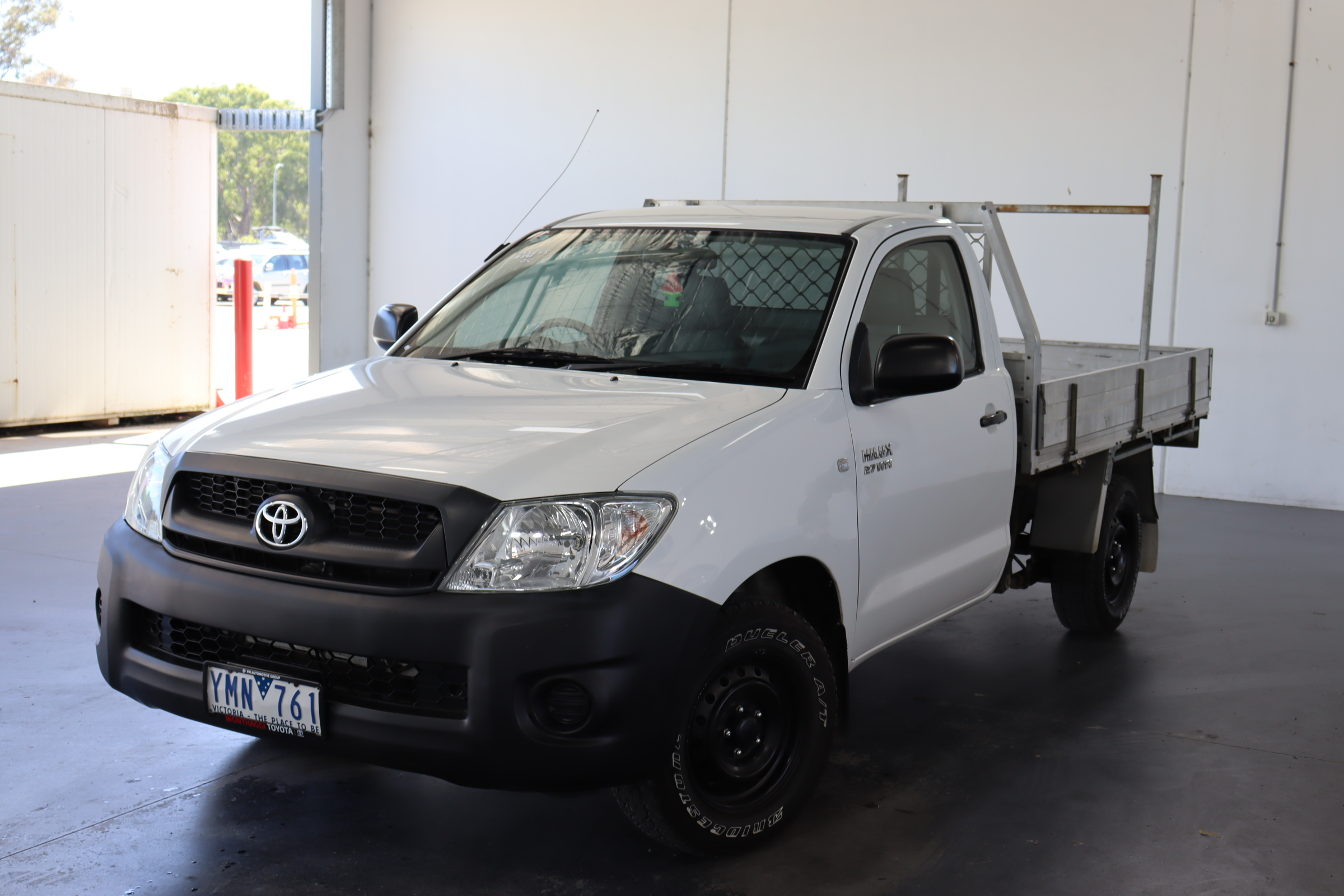 2011 Toyota Hilux Workmate TGN16R Manual Cab Chassis(WOVR+Rep)