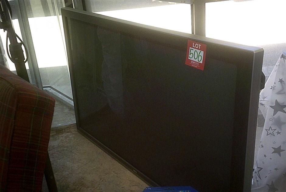 NEC Plasma Sceen TV. No lead, No Remote. In Working Condition.65 inch scree