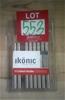 8 units of Ikonik Steel Modern Handles.