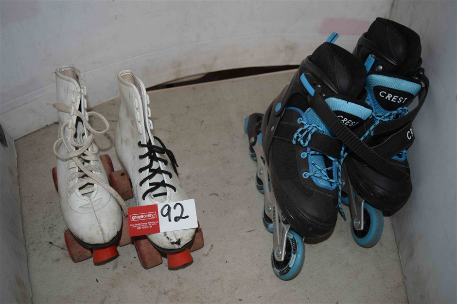 As New Set of ``Crest ABEC 7 Power`` Roller Blades Size 5-7