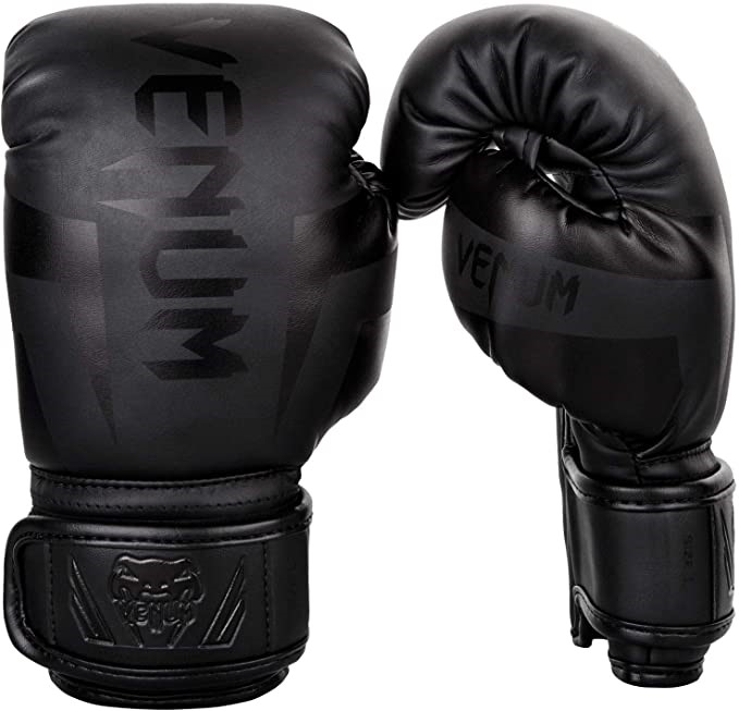 VENUM Kids Elite Boxing Gloves Multi Density Foam With Reinforced Areas For