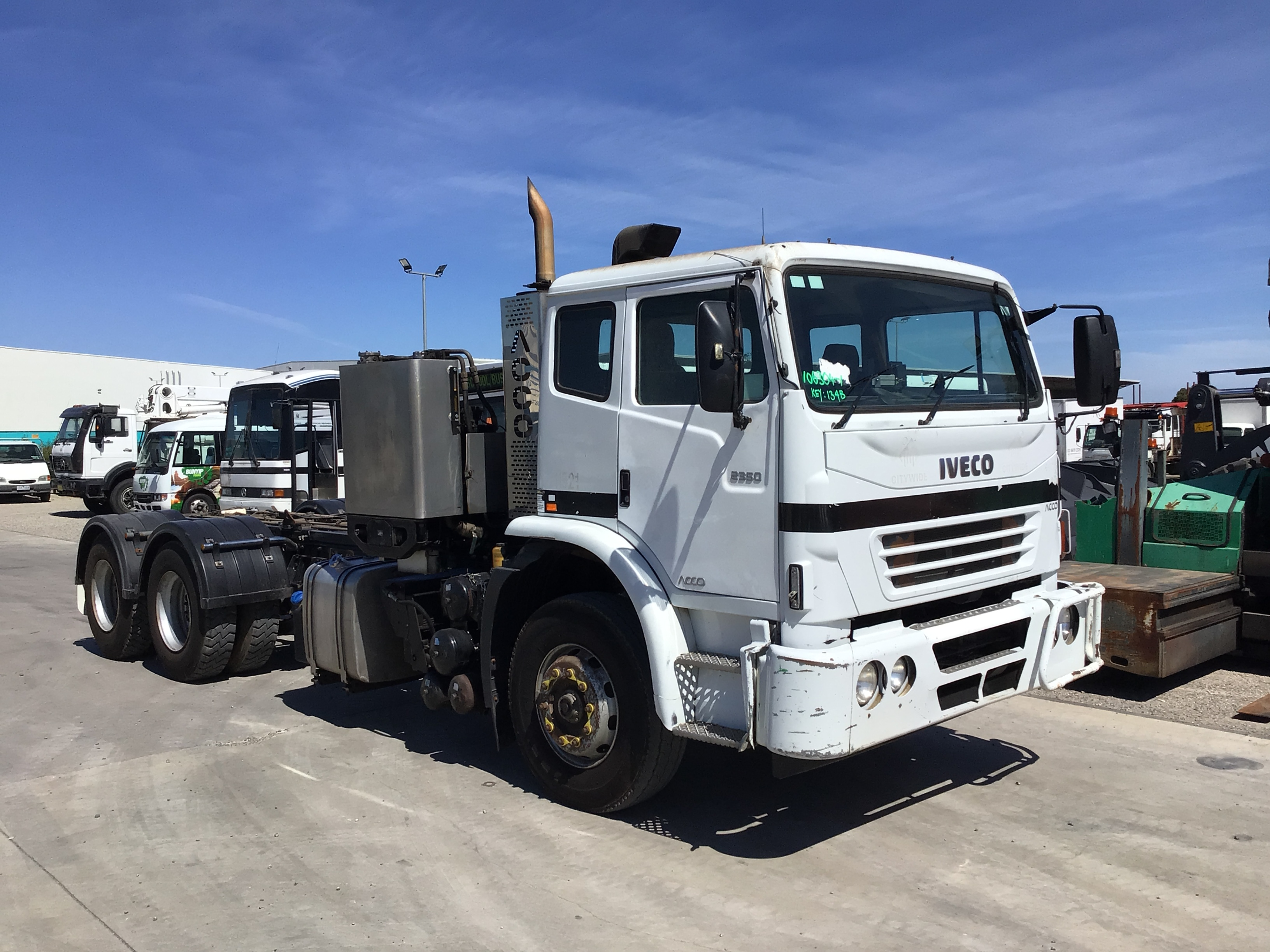 2011 Iveco 2350 6 x 4 Cab Chassis Truck