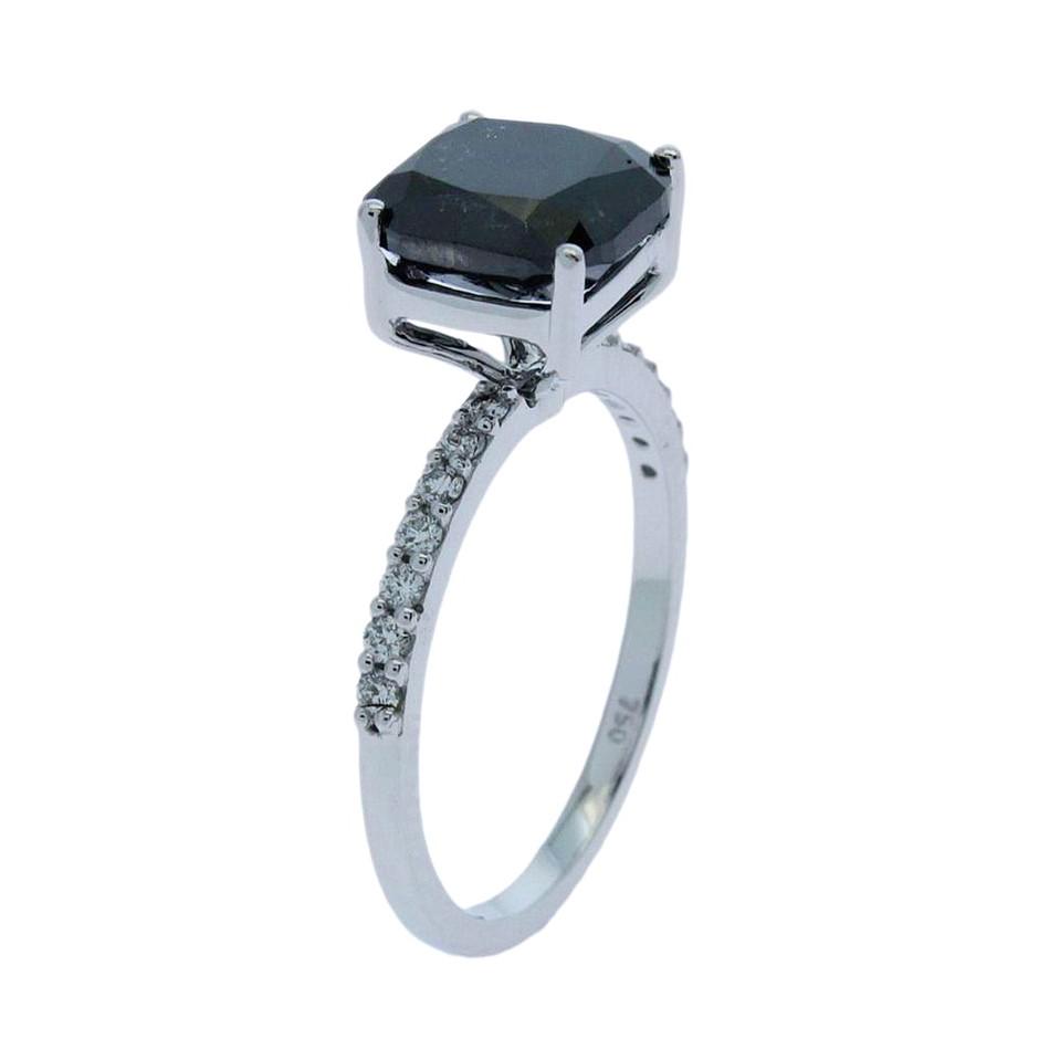 18ct White Gold, 3.28ct Diamond Engagement Ring