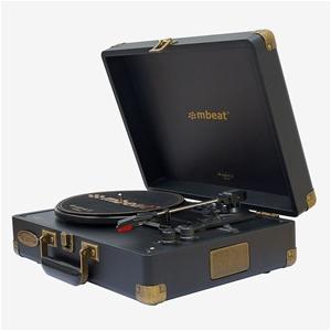 mbeat Woodstock 2 Black Retro Turntable