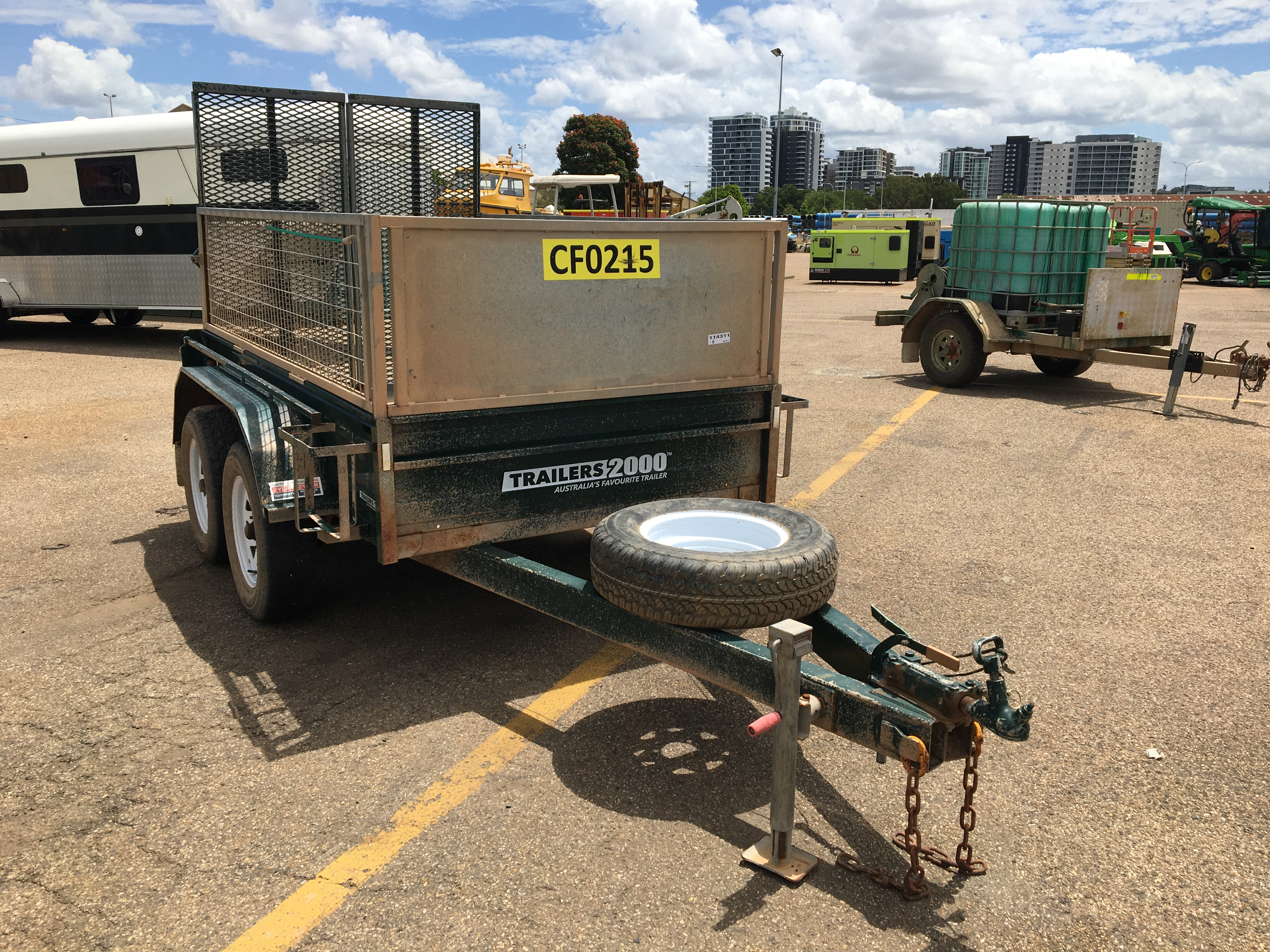 2018 Trailers 2000 T6L9 Tandem Box Trailer with Ramp
