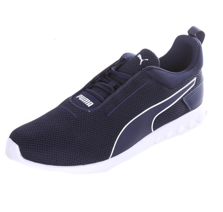 PUMA Men`s Carson 2 Concave Shoes, Size UK 12, Blue/White Sole. (SN:CC53709