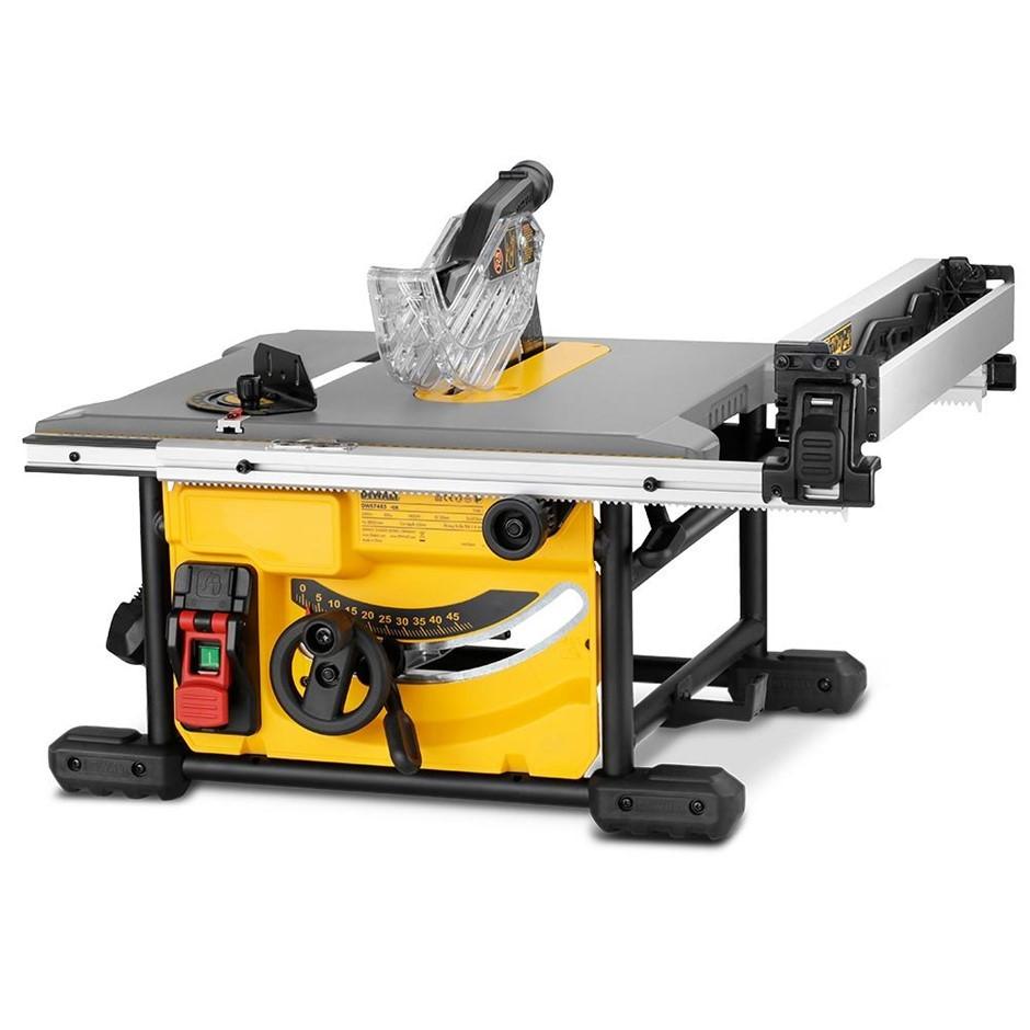 DEWALT 1850W 210mm (8.2``) Portable Table Saw. N.B. Not Tested. Condition U