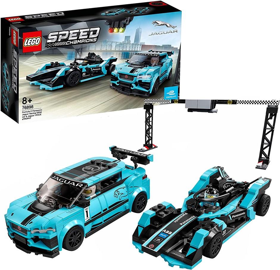 LEGO Speed Champions Formula E Panasonic Jaguar 76898 Building Kit