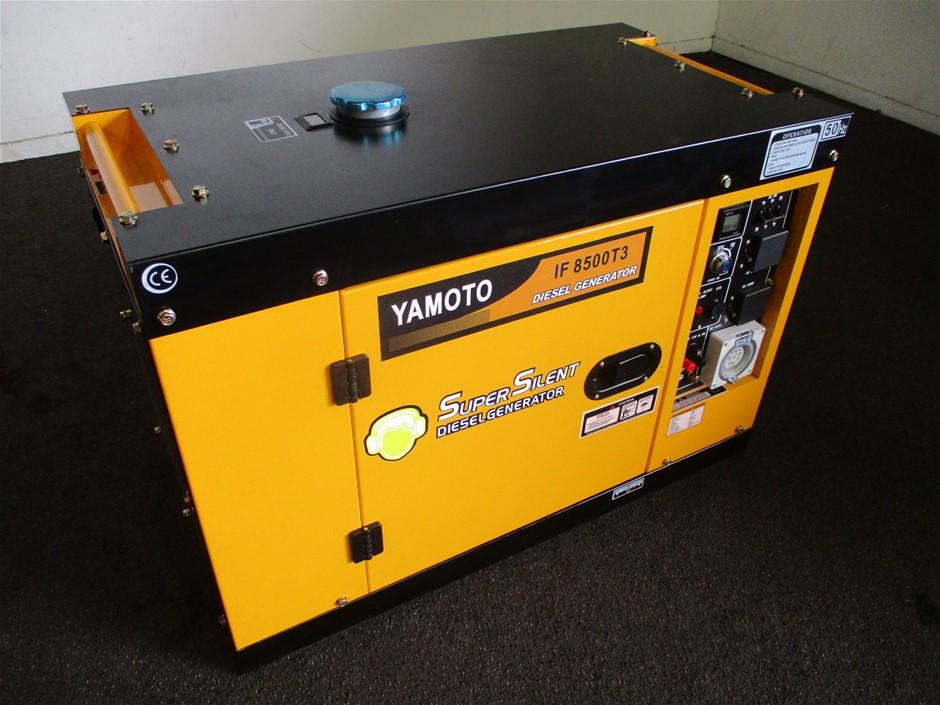 Unused 2020 Yamoto IF8500T3 Diesel Generator