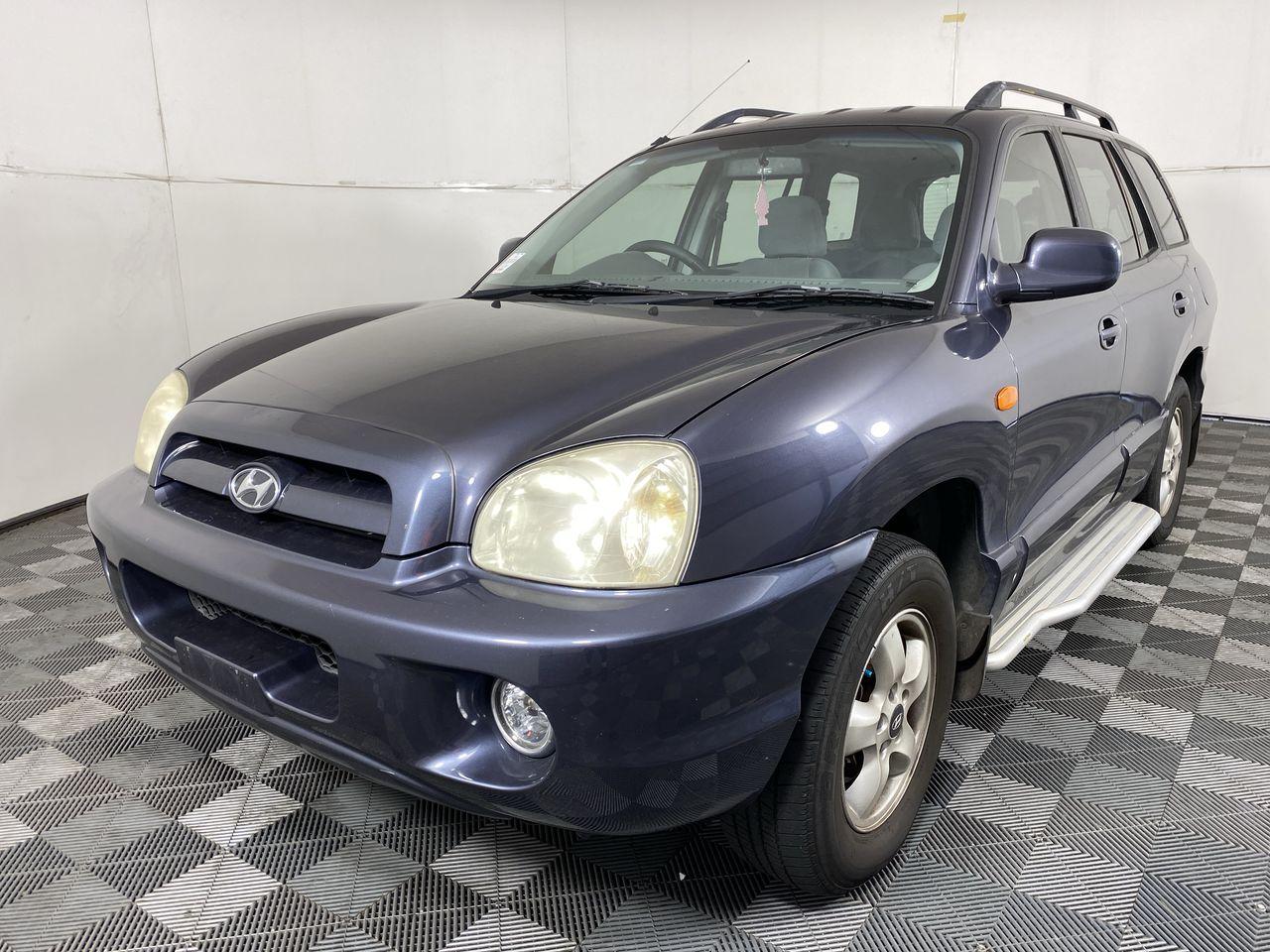 2004 Hyundai Santa Fe GLS (4x4) Automatic Wagon
