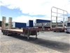 <p>2007 Vawdrey VBS3 Triaxle Drop Deck Trailer</p>