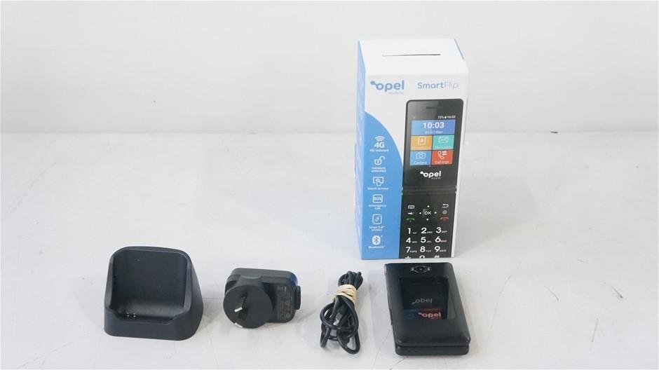 Opel SmartFlip 4G 4GB 2.8-Inch Mobile Phone, Black