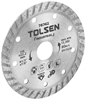 5 x TOLSEN Diamond Cut Blades, 115x22.2mm, Max RPM 13 300, Blade Width 10mm