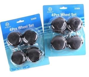 3 Sets of 4 x Castor Wheels 50mm. Buyers