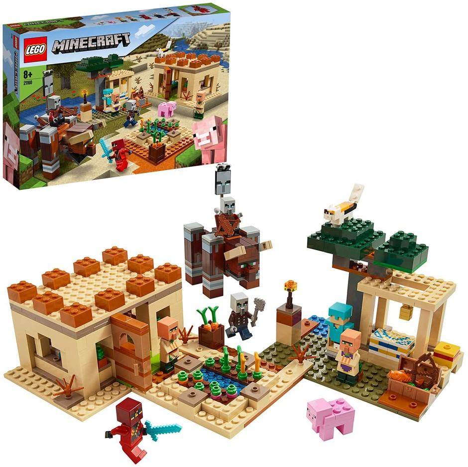 LEGO Minecraft The Villager Raid 21160 Building Toy