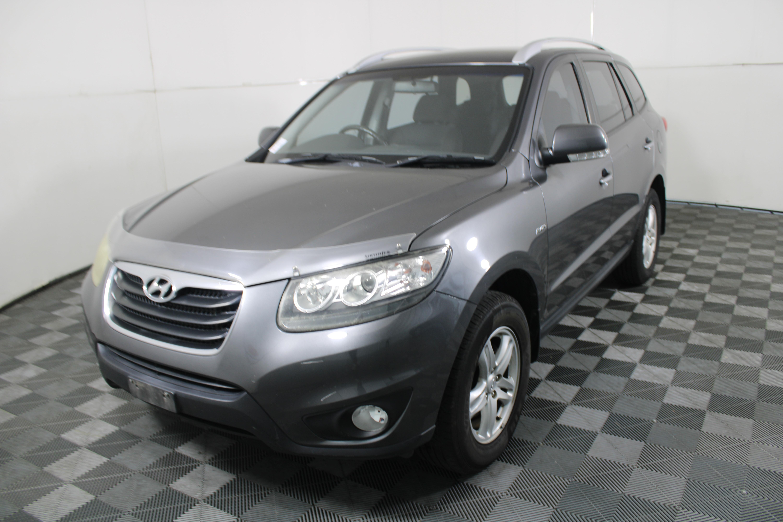 2010 Hyundai Santa Fe CRDi (4x4) CM T/Diesel Automatic 7 Seats Wagon