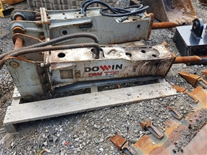 3T Dowin Hammer to suit 3T Excavator