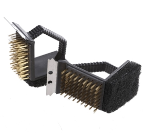 2 x Heavy Duty BBQ Cleaning Brushes 150m