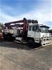 1988 Mitsubishi FV418 6 x 4 Concrete Pump Truck