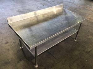 S/steel storage bench