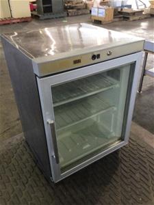 S/steel Display Bar Freezer