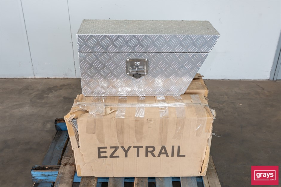 Qty 3 x Ezytrail Adventure HF-724 L Undertray Aluminium Storage Box