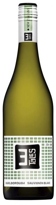 3 Tales Sauvignon Blanc 2020 (6 x 750mL), Marlboroguh, NZ,