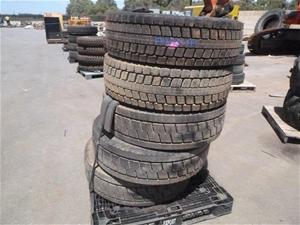 5x Heavy Duty Tyres
