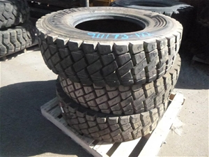 3x Continental Heavy Duty Tyres