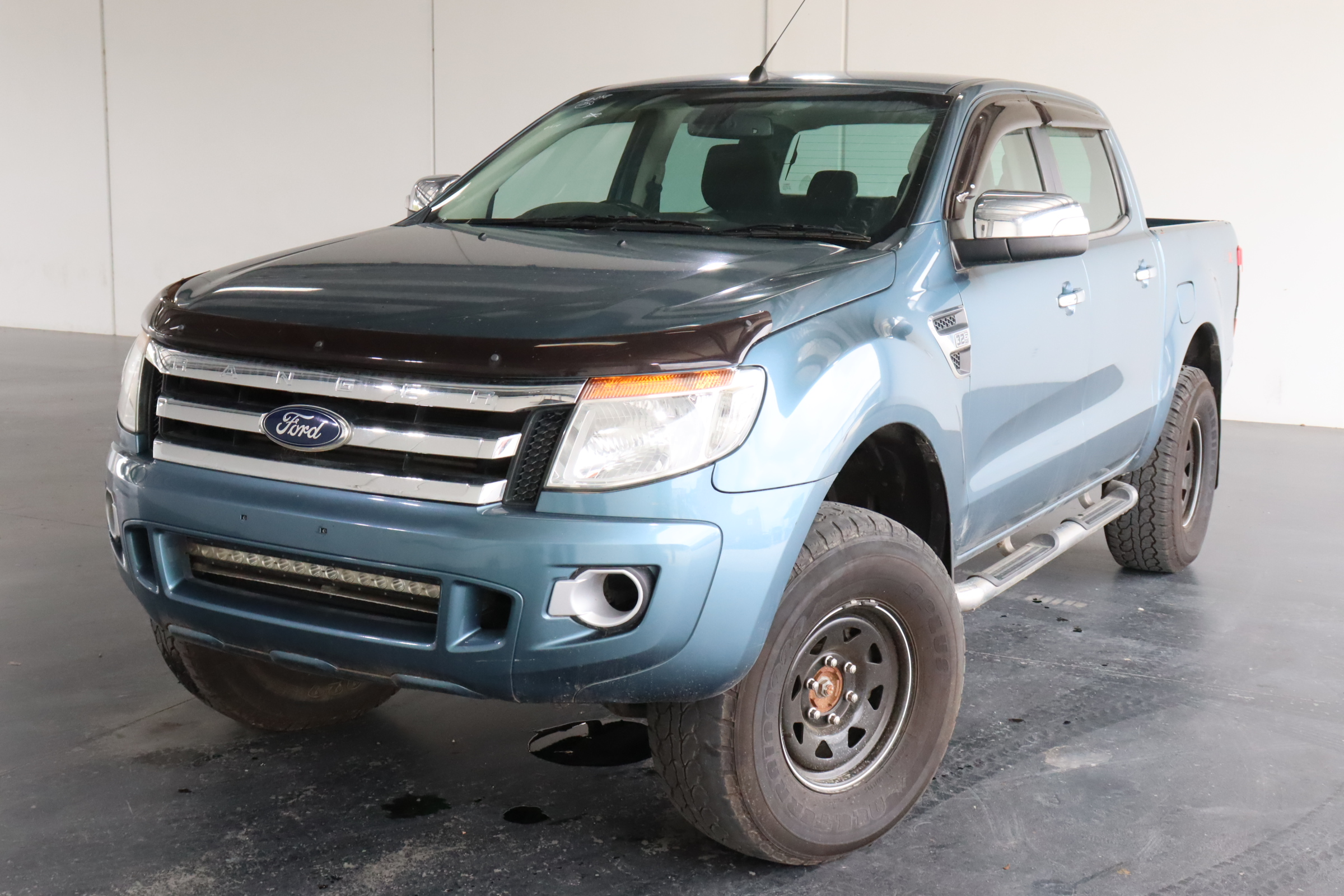 2013 Ford Ranger XLT 4X4 PX Turbo Diesel Manual Dual Cab