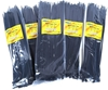 5 Packs Of Cable Ties Each 100pcs, Size: 4.8 x 300mm, Black. Buyers Note -
