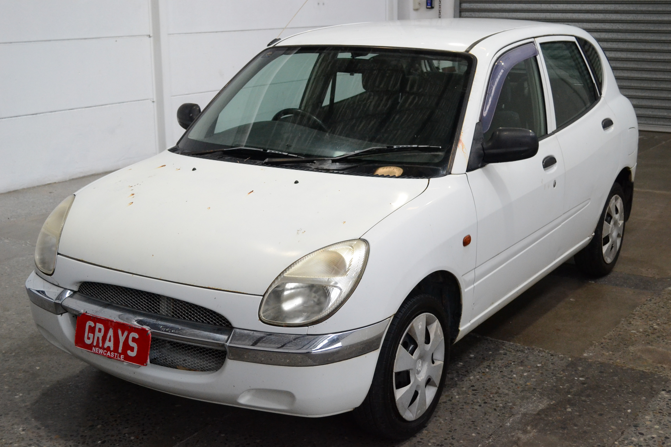 2000 Daihatsu Sirion M100 Manual Hatchback
