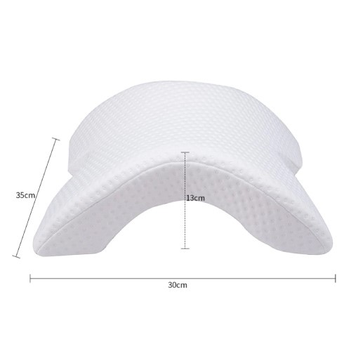 6 in 1 Pressure Free Neck Protection Memory Foam Pillow