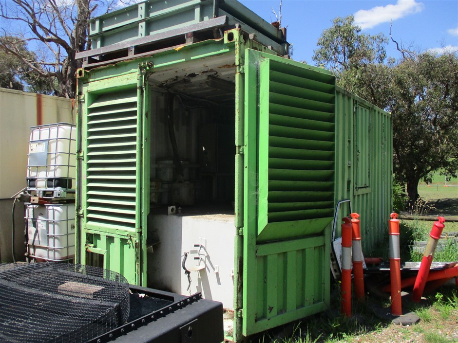 20ft 10,000 Litre Capacity Fuel Shipping Container