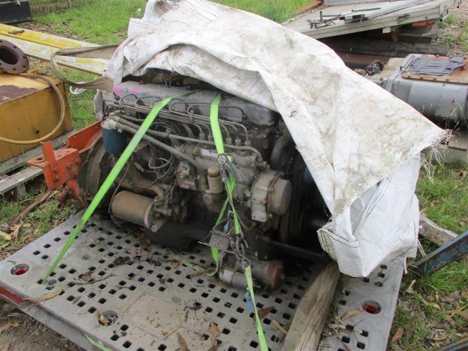 6 Cylinder Nissan Diesel Engine