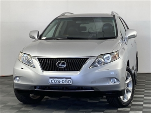 2012 Lexus RX350 Sports Luxury GGL15R Au