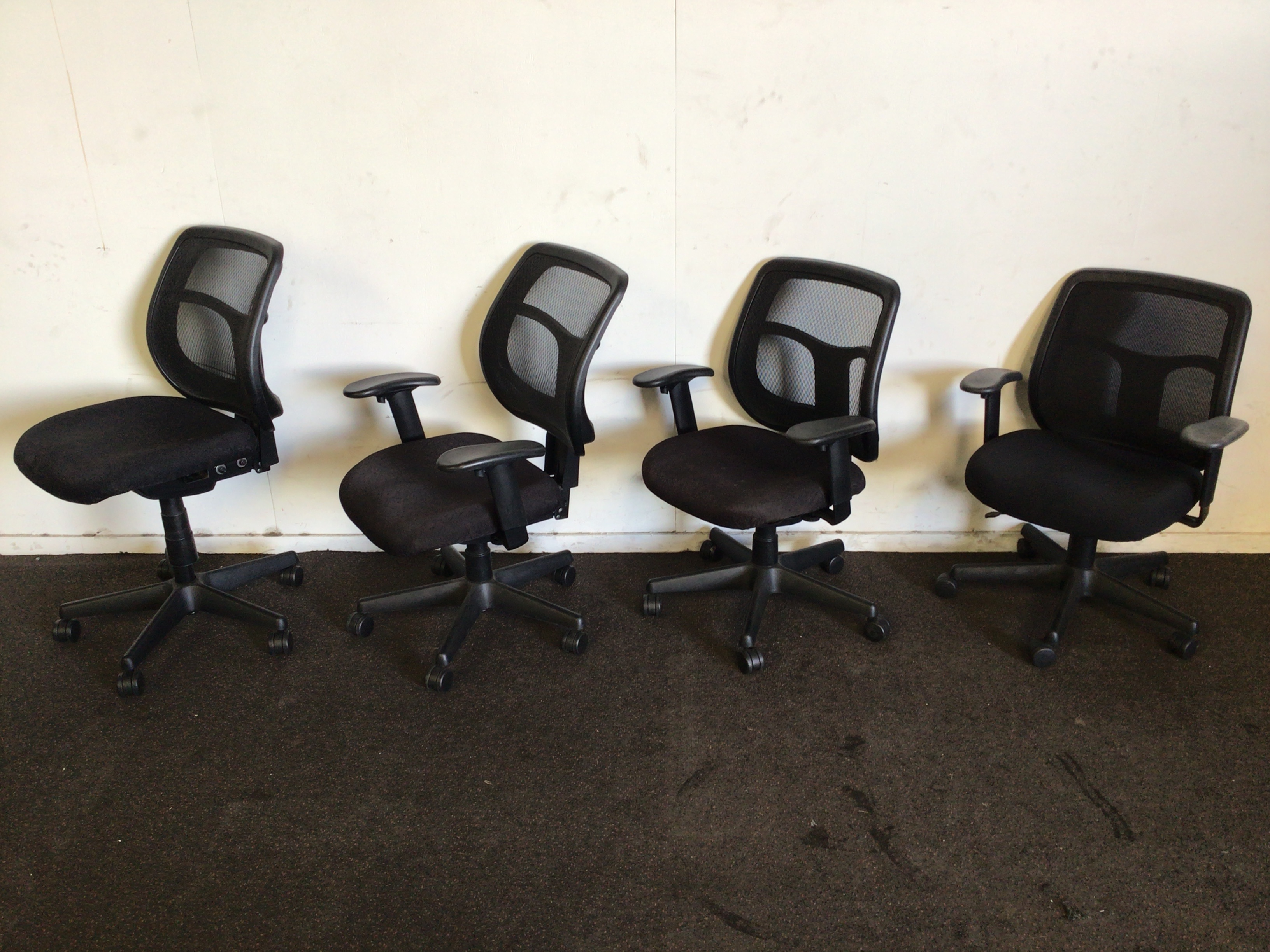 Qty 4 X Empire Office Chairs