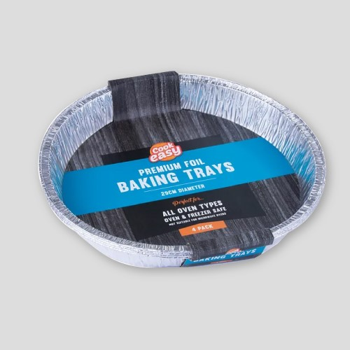 96Pack Disposable Oven Cook Foil Baking Trays