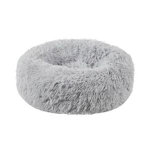 Plush Donut Faux Fur Calming Pet Nest -