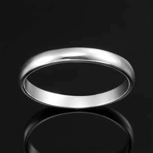 Solid 925 Sterling Silver Men's Band Rin