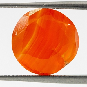 4.70ct Faceted Carnelian