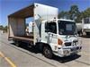 <p>2008 Hino FD 4 x 2 Curtainsider Rigid Truck</p>