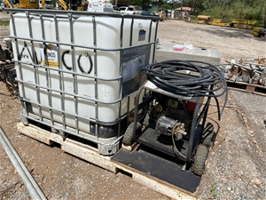 Skid Mounted Portable Pressure Washer Pa
