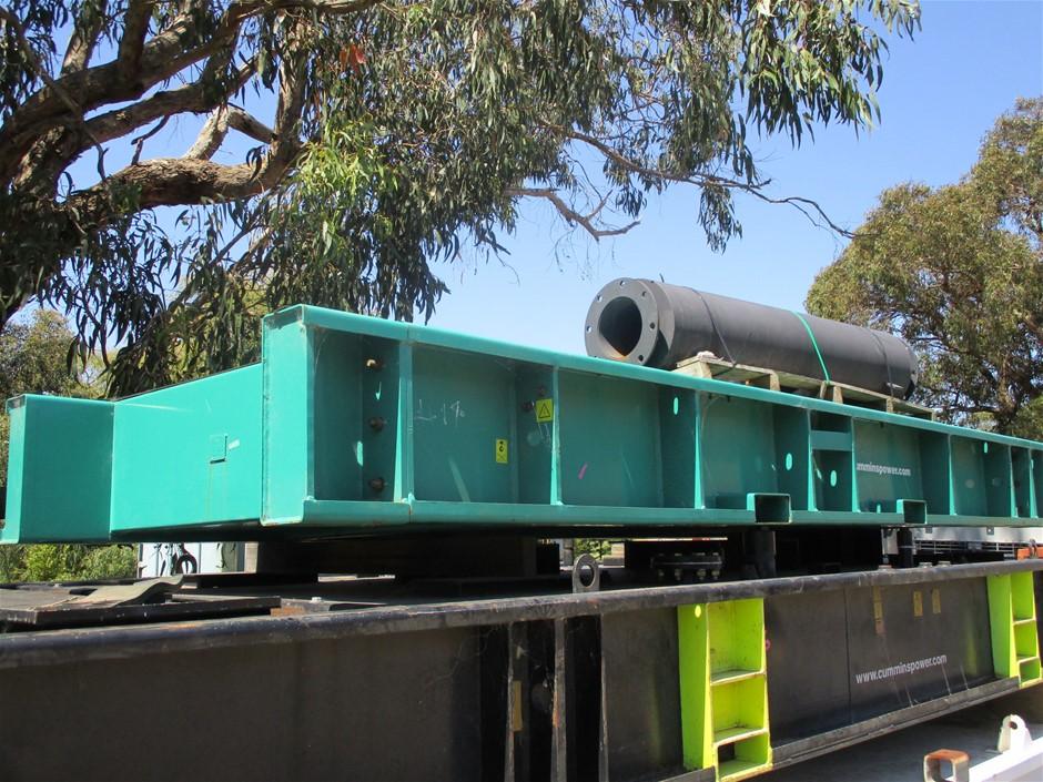 Steel Generator Platform/Tank