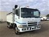 <p>2002 Mitsubishi  FV500 6 x 4 Tipper Truck</p>