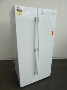 Westinghouse 610L Side By Side Fridge (W