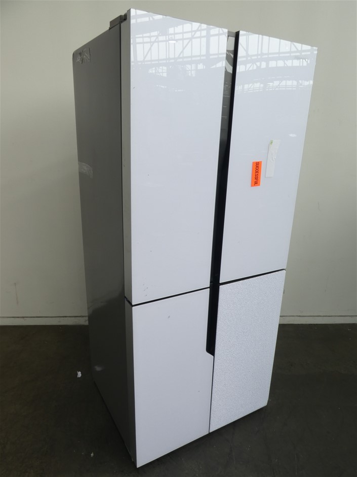 Hisense 512L French Door Fridge (HR6CDFF512GW) (White)