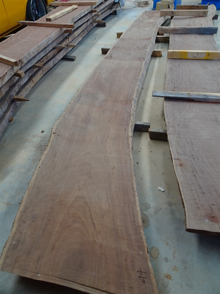 Hardwood Red Gum Slab