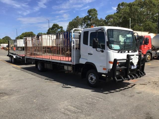 2012 UD Condor MK11 250 4 x 2 Tray Body Truck & Trailer