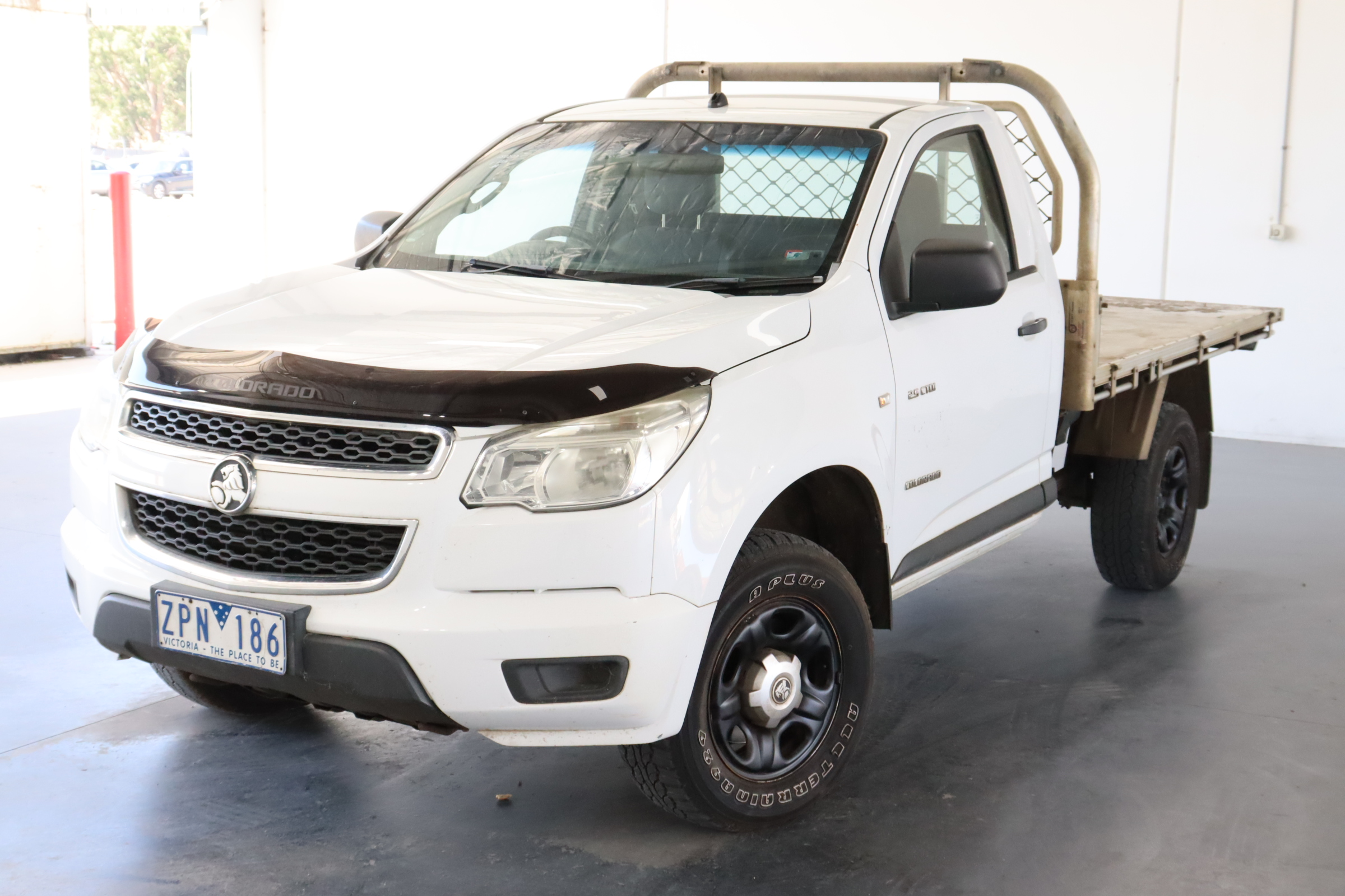 2012 Holden Colorado 4X2 DX RG Turbo Diesel Manual Cab Chassis